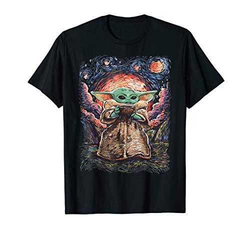 Star Wars The Child Starry Night T-Shirt