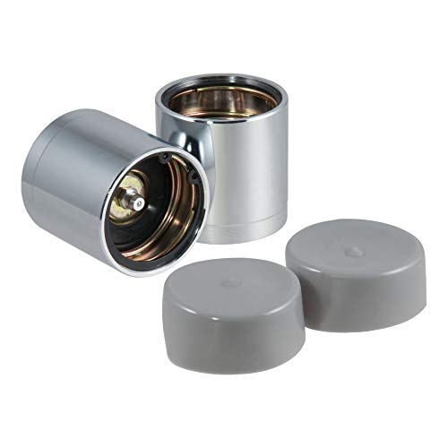 CURT 22198 1.98-Inch Trailer Wheel Bearing Protectors and Dust Covers, 2-Pack
