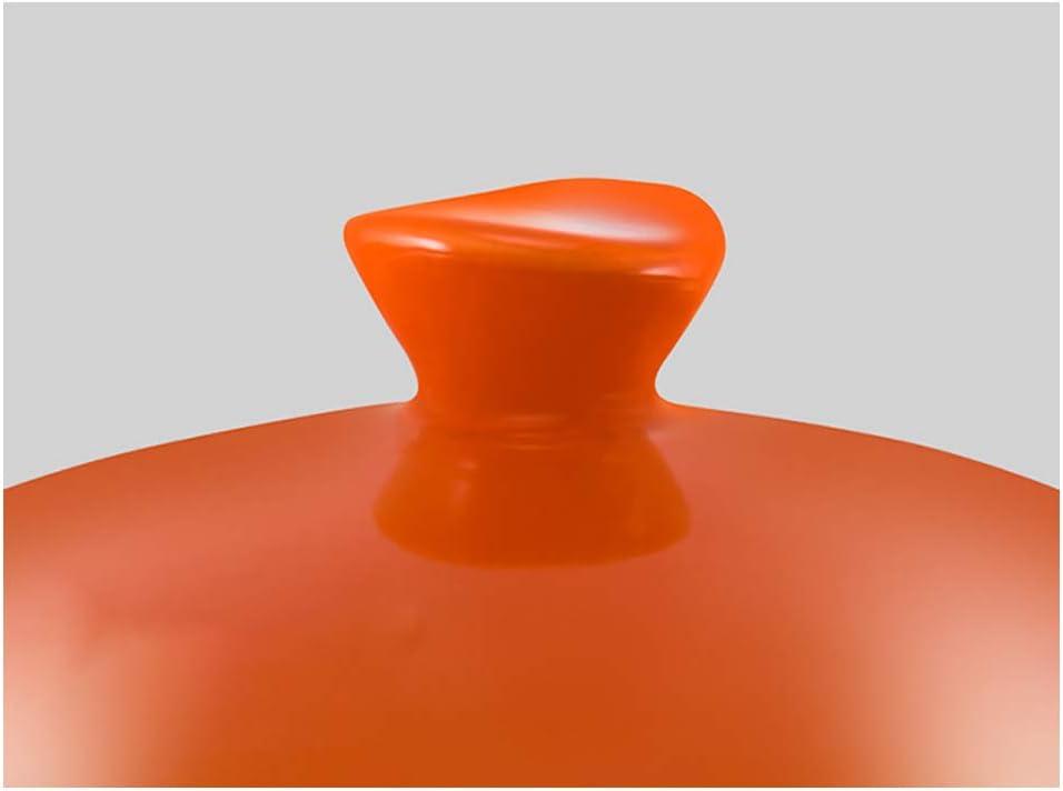 Auflaufform, Gusseisen-Auflaufform, Keramik, Ton, Suppe, offene Flamme, hitzebeständig, Kasserolle, Haushaltsgas, Material, Orange, Größe Cyan