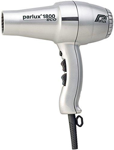 Parlux Hair Dryer 1800 - Secador de pelo, color plata