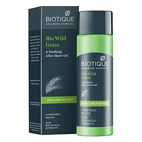 Biotique Bio Wild Grass Expert After Shave 120ml (Ship from India)