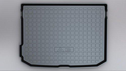100% new Coche Alfombrillas Maletero, para Audi A3 2012-2019 (hatchback) Goma Alfombrillas...