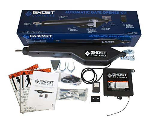 Ghost Controls TSS1 Heavy-Duty Single Automatic Gate Opener...