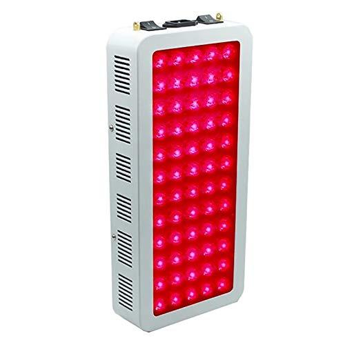 NCCTRW 300w 500w 1000w Lámpara De Terapia De Luz Roja Roja 660nm E Infrarrojo Cercano 850nm, Terapia De Luz Led De Cuerpo Completo para El Alivio De La Piel Y El Dolor,300W
