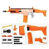 JGCWorker Worker Decoration Mod Kits Set for Nerf N-Strike Elite Stryfe Blaster Color Orange