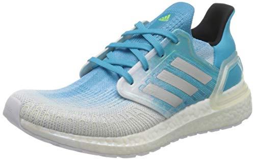 adidas Ultraboost 20, Zapatillas de Running Hombre, Blanco, 44 EU