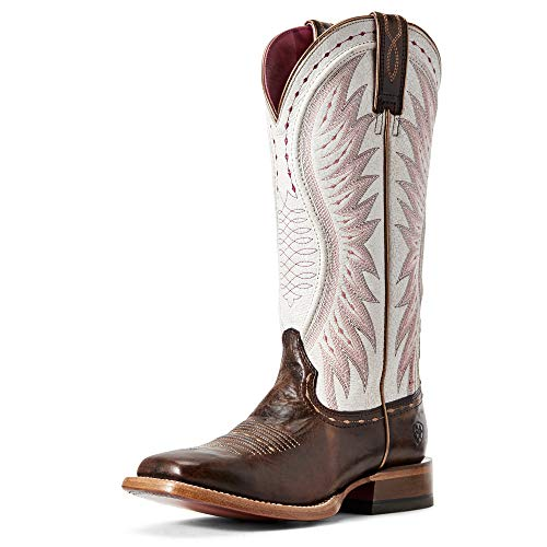 ARIAT Women's Vaquera Mustang Western Boot Wide Square Toe - 10029753