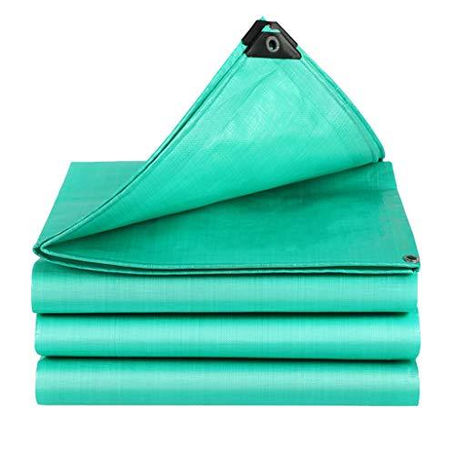 JINGKE Heavy Duty Tarpaulin, High Density Tarpaulin, Polyethylene PE Tarpaulin Tarp Sheet for Camping and Outdoor Garden, 100% Waterproof and UV Protected,6x10m