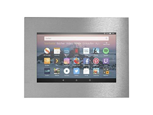 TabLines TWE060QS Tablet Wandeinbau für Amazon fire HD-8 Silber