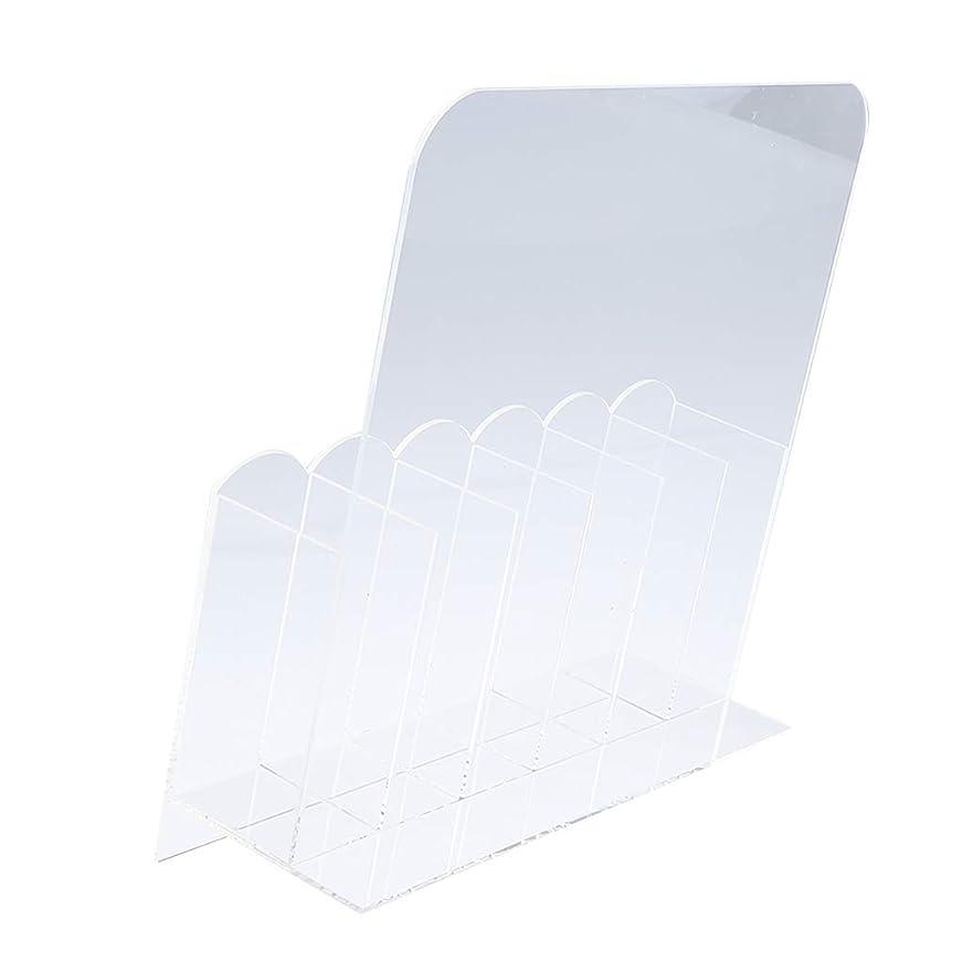 格差カレンダー満足できるSM SunniMix 収納ボックス 6グリッド ネイル収納 マニキュアツールオーガナイザー