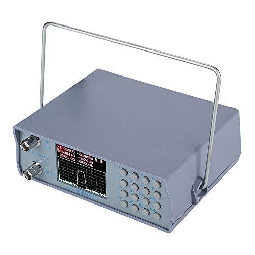 Wendry Analizador de Espectro, U/V UHF VHF Analizador de Espectro de RF de Doble Banda con Fuente de Seguimiento 136-173MHz/400-470MHz (Material ABS, Alto Rendimiento, tamaño Compacto, bajo Consumo)