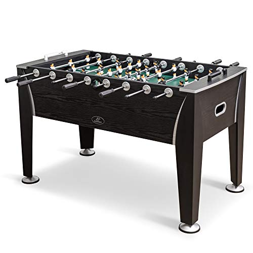 EastPoint Sports Official Competition Size Foosball Table for Multiplayer Indoor Play - Includes Two Foosballs – Perfect for Your Basement, Garage, Family Game Room, Man cave, or Living Room