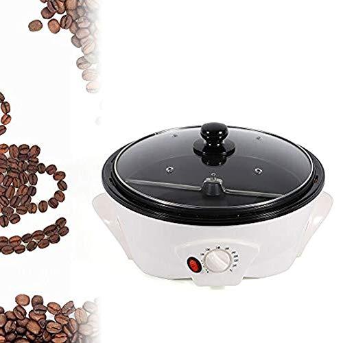 Haushaltskaffeeröster Kaffeebohnen Röstmaschine, Getreide Kaffee-Maschine 100-240 ℃ Einstellbar, Für Kaffee, Rohen Bohnen, Erdnüsse, Getreide, Gewürze Backen 1200W