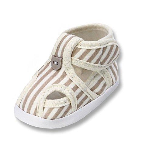 Sandalen Lauflernschuhe Taufschuhe für Baby Babies Jungen Kinder, Tp32 Beige, 19 EU