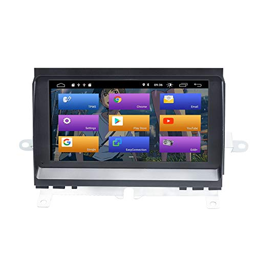 BOOYES per Land Rover Discovery 3 LR3 L319 Android 10.0 Double DIN 7'Car Multimedia Navigazione GPS Auto Radio Stereo Auto Auto Play/TPMS/OBD / 4G WiFi/Dab/SWC