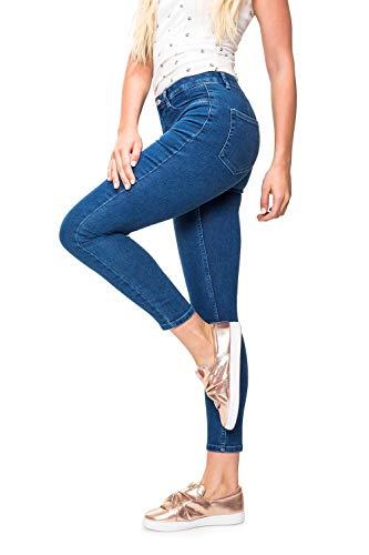 ONLY Damen High Waist Skinny Jeans Denim Stretchhose (XS / 32, Medium Blue Denim)