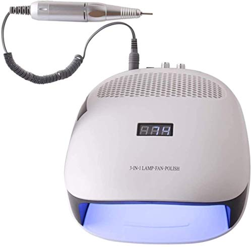 NCRD Gel Led Nail Dryer Nail Curing Lamp with Auto Sensor Professional UV Nail Light Fast Dry Fingernail and Toenail