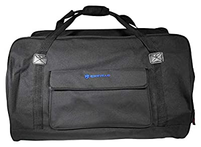 """Rockville Weather Proof Speaker Bag Carry Case For Rockville RPG15 15"""" Speaker from Rockville"""