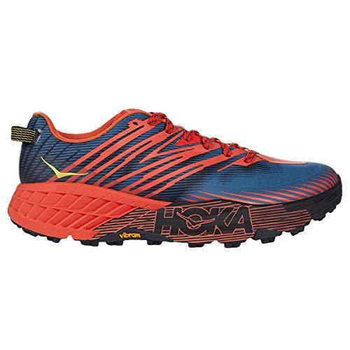 HOKA ONE ONE Speedgoat 4 Chaussures de sport en textile synthétique pour homme, (Fiesta Provincial Bleu), 45 EU
