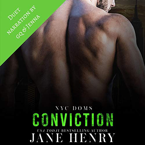 Conviction audiobook cover art