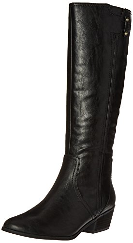 Dr. Scholl's Shoes womens Brilliance Riding Boot, Black, 8.5 US