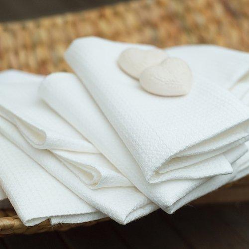 Toalla baño Lino algodón. Estampado Cuadros. Color