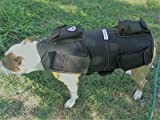Full Body Weighted Dog Vest Weights On All 4 Legs More Effective Workout Builds Strength and Improves Over All Health. Matching 2. (Large Vest: 15 LBS - Dog Size: 70-100 LBS, Gun Metal Black)