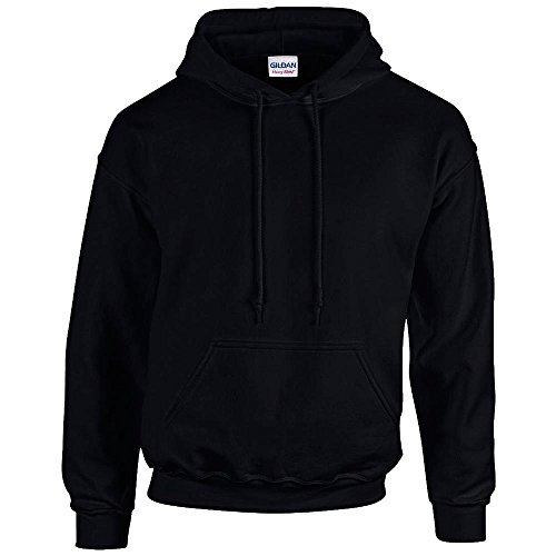 "Gildan Sweatshirt mit Kapuze ""Heavy Blend"" Gr. XXL, Schwarz"