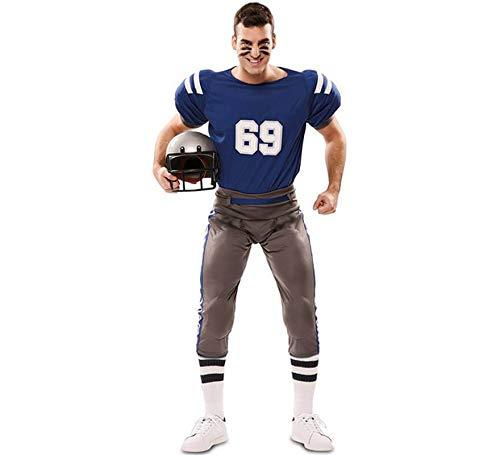 EUROCARNAVALES Disfraz de Jugador de Futbol Americano para hombre