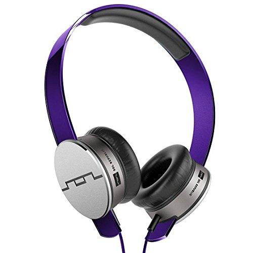 SOL Republic Tracks HD OnEar-Kopfhörer mit V10 Sound-Engine (tauschbares Headband) Violett