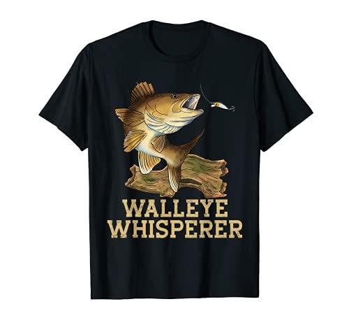 Walleye Fishing Shirt Walleye Whisperer Señuelo de pesca para hombre Camiseta