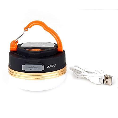 Duan hai rong DHR Led wiederaufladbare Camping Licht, USB Zelt Licht, Außenbeleuchtung Taschenlampe, tragbare Außenleuchte, Campingzubehör, wasserdicht Camping Lichter (Color : Charging Model)