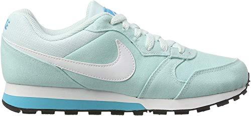 Nike Damen WMNS MD Runner 2 Sneaker, Blau (Glacier Blue/Chlorine Blue/White), 38 EU