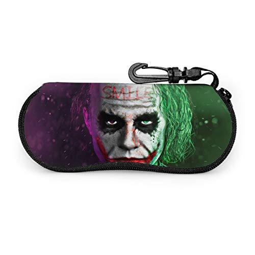 The Joker Unisex Hard Shell Eyeglasses Cases/Glasses Case Hard Shell/Eyeglass And Sunglass Case For Men Women And Kids