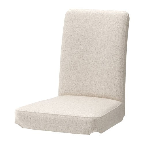 IKEA HENRIKSDAL Stuhl, Bezug-Linneryd natur
