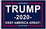 Donald Trump for President 2020 Keep America Great Flag Banner Go Trump 2020 Flag 3x5 Feet with Brass Grommets