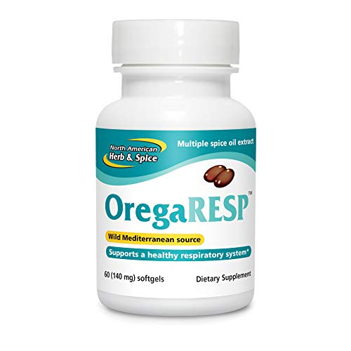 North American Herb & Spice OregaResp P73-60 Softgels - Supports Immune & Respiratory Health - Multiple Spice Oil Complex with Oreganol P73 Oregano Oil - Non-GMO - 30 Servings