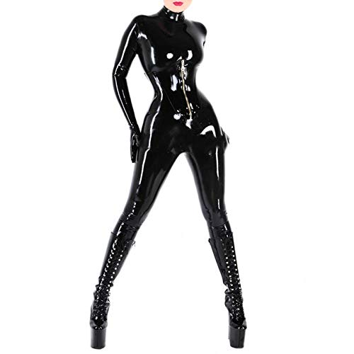 WNBXZ Ropa De Látex Mujer Body De Látex Catsuit Sexy Ladies Diseño De...
