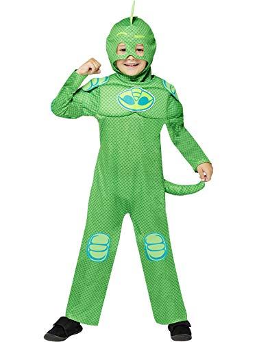Kinder PJ Masks Muscle Gekko Kostüm