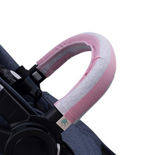 JANABEBE Housse pour Barre de Protection Poussettes (PINK ISLAND, Unipersonnel)