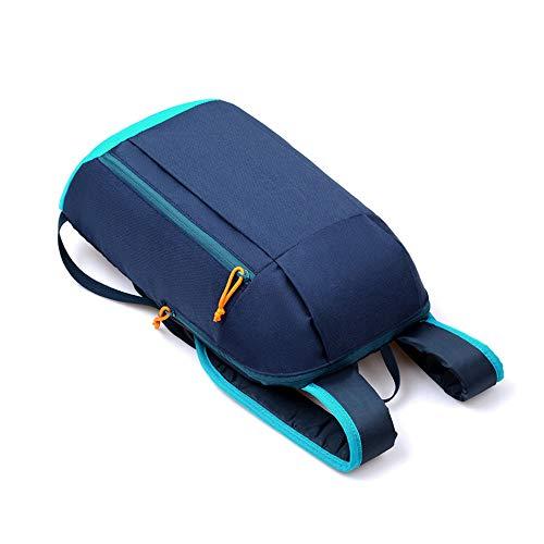 MEIbax Sportrucksack Wandern Rucksack Männer Frauen Unisex Schulranzen Umhängetasche Handtasche Rucksack Handy Taschen (Blue)