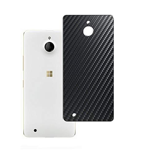 Puccy 2 Pack Back Screen Protector Film, compatible with Microsoft Lumia 850 Guard Cover ( Not Tempered Glass/Not Front Screen Protectors)- Black