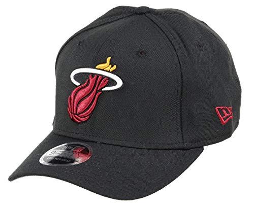 New Era Miami Heat 9fifty Stretch Snapback Cap NBA Essential Black - One-Size