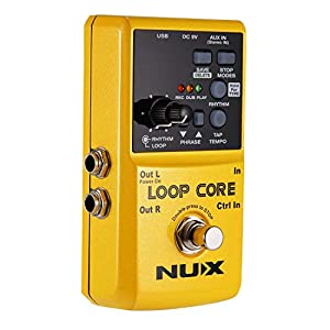 Asmuse NUX Loop Core Effektgerät für Gitarre Looper Pedal
