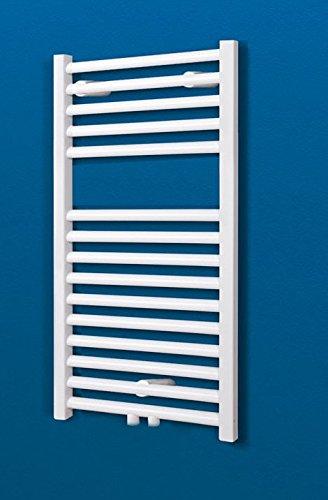 Badheizkörper Mittelanschluss Toskana 70×40 cm Design-Heizkörper Bad weiß vom Renovierungsprofi, 1 Stück, 4056397001737 - 3