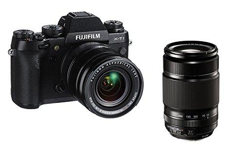 Fujifilm X-T1 - Cámara digital (Auto, Modos personalizados, Luz de día, Fluorescente, Fluorescente L, Incandescente, Sombra, Batería, MILC, Auto, Forzado, Reducción de ojos rojos, Sincronización lenta, 1920 x 1080 Pixeles, LCD)