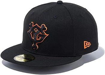 読売ジャイアンツ/巨人 グッズ キャップ/帽子 GIANTS YG TOKYO 59FIFTY Fitted Hat New Era(ニューエラ) (ブラック/オレンジ/ブラック)