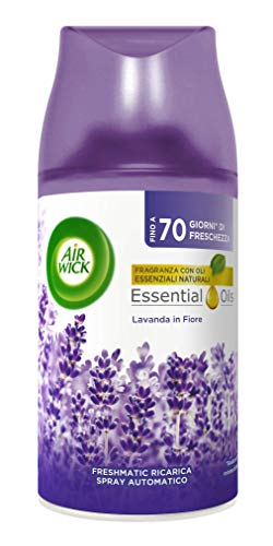 Air Wick Ricariche per Profumatore Freshmatic, Fragranza Lavanda in Fiore, Ricarica da 250ml