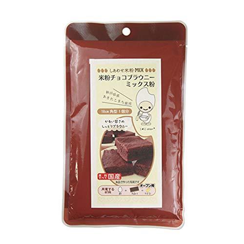 ミックス粉 米粉チョコブラウニーミックス 120g グルテンフリー 小麦粉不使用