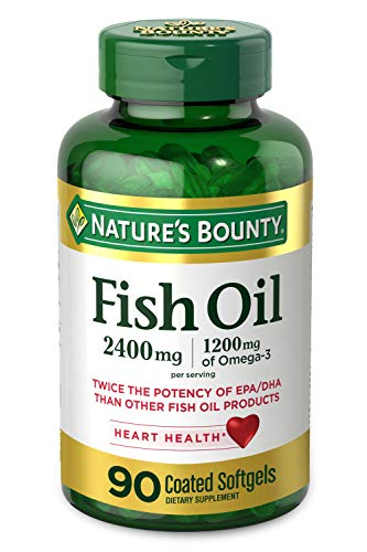 Nature's Bounty Fish Oil, 2400mg,…